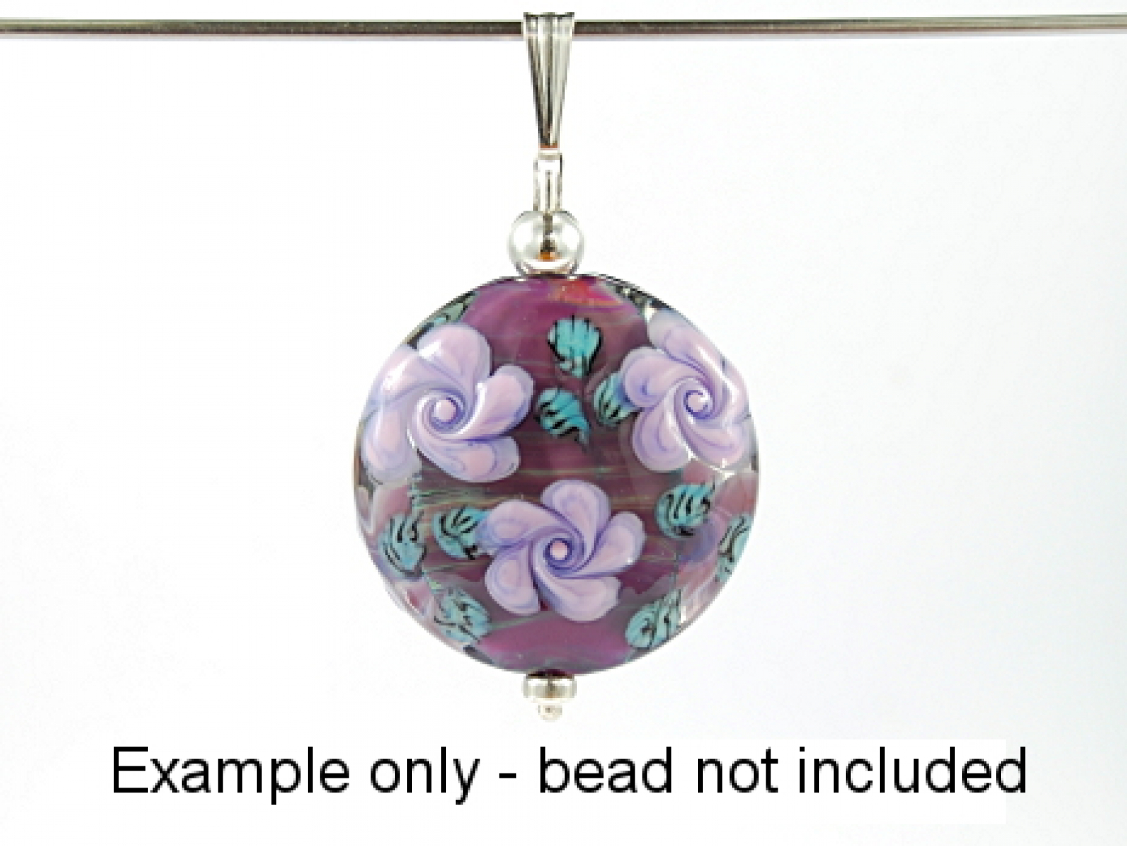 15 inch interchangeable sterling silver post dks lampwork aloadofball Gallery